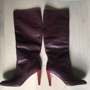 Diane Von Furstenberg Knee High Boot